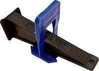 СВП (Система выравнивания плитки) Микс (с толщиной шва 1,0 мм) , клипсы/клинья(40/40 шт)