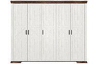 Шкаф для одежды 5Д Марсель, Ясень Снежный, БРВ Брест (Беларусь)
