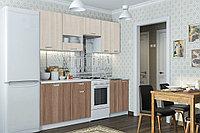 Шкаф кухонный 500, 1Д как часть комплекта Розалия, Ясень Шимо светлый, СВ Мебель (Россия)