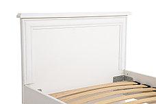 Кровать односпальная, коллекции Кентаки, Белый, БРВ Брест (Беларусь), фото 3