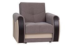 Кресло традиционное раскладной как часть комплекта Сиеста 4, Ника06/EcotexА109/Ecotex213, АСМ Элегант (Россия), фото 3