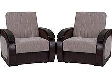 Кресло традиционное как часть комплекта Сиеста 2, Nika07(песоч)/Nika07(песоч)/Ecotex213, АСМ Элегант (Россия), фото 3