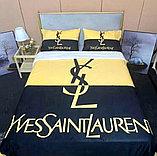 Плед бараш с брендами полутораспальный, фото 3