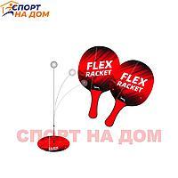 Детский тренажер Flex для настольного тенниса с ракетками