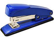 Степлер SILWERHOF металлический до 15 листов, синий