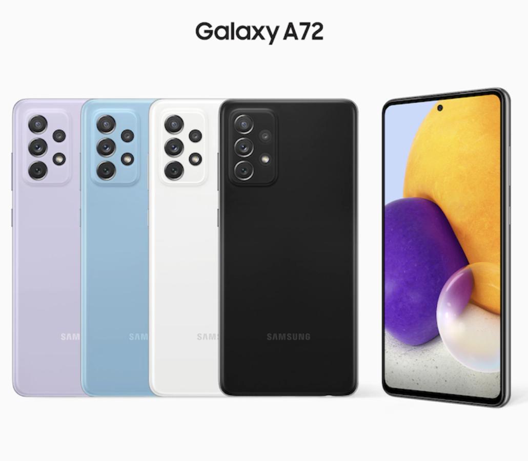 Samsung Galaxy A72 A725F 8/256GB Purple