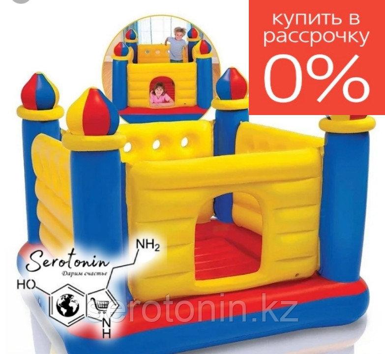 """Детский надувной батут """"Замок"""" INTEX CASTLE BOUNCER"""
