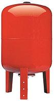 Бак расширительный (экспанзомат) БРОФ-80л-В для систем отопления (красный).