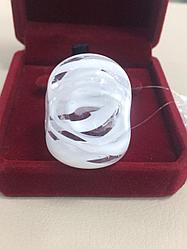 Кольцо из муранского стекла - 18 размер