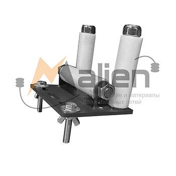 Ролик кабельный прямой для перфорированного кабельного лотка РЛ-КЛ-100/150 МАЛИЕН