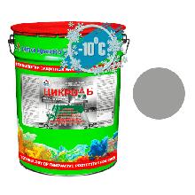 Цикроль – грунт-эмаль по оцинкованному металлу 25 кг RAL 7040