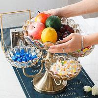 Европейская многослойная фруктовая чаша