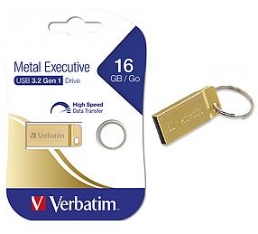 USB-накопитель Verbatim 99104 16GB USB 3.2 Золотистый