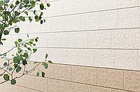 Японская фиброцементная фасадная панель KMEW Под мраморный камень HCW2332GC