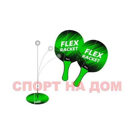 Детский тренажер Flex  для настольного тенниса с ракетками, фото 2