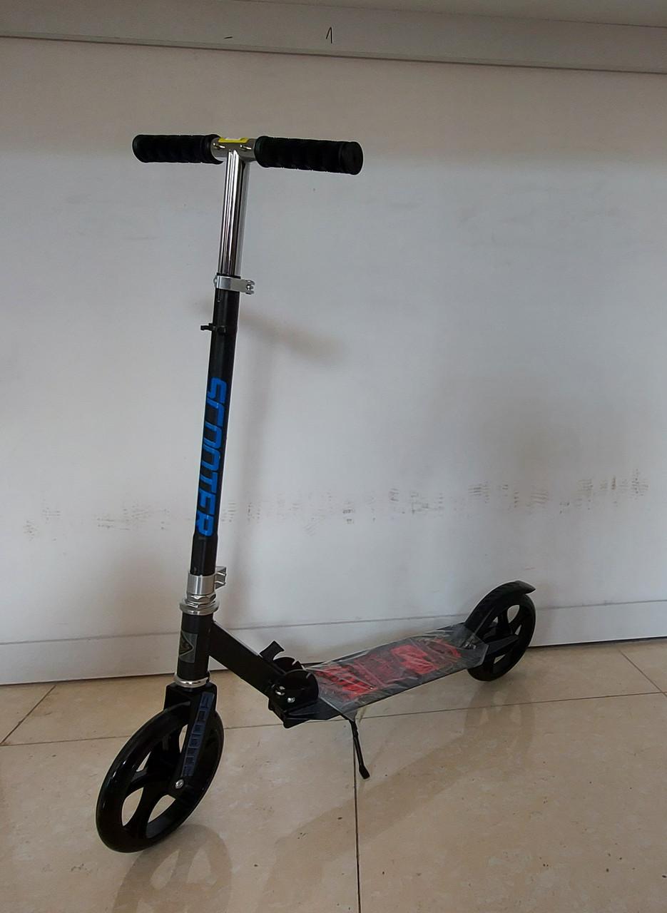 Складной двухколесный самокат Scooter для подростков. Kaspi RED. Рассрочка.