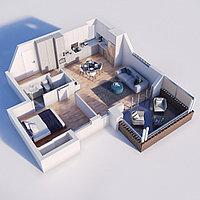 Проектирование планировки квартиры