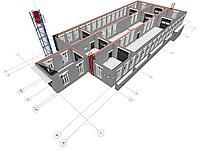 Проектирование производственных помещений (до 3 этажей)