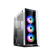 Компьютерный корпус Deepcool MATREXX 55 V3 ADD-RGB WH 3F без Б/П, фото 3