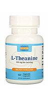 L - Theanine Теанин 200  мг 60 капсул. Усиленная формула.