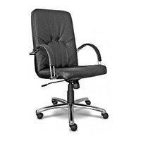 Офисное кресло Nowy Styl Manager Steel Chrome Sp-A черный