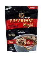 """Umight / Протеиновая каша быстрого приготовления """"Breakfast Might"""" овсяная с клубникой, 350 г"""
