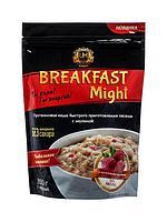 """Umight / Протеиновая каша быстрого приготовления """"Breakfast Might"""" овсяная с малиной, 350 г"""