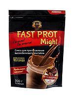 "UMight / Протеиновый коктейль ""Fast Prot Might"" со вкусом шоколада, 300 г"
