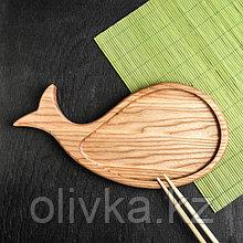 Доска для подачи блюд японской кухни, 30 х 20 см, массив ясеня
