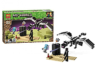 Конструктор Майнкрафт Последняя битва, Bela 11169 аналог LEGO Minecraft The End Battle 21151