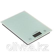 Весы кухонные LuazON LVK-702, электронные, до 7 кг, белые
