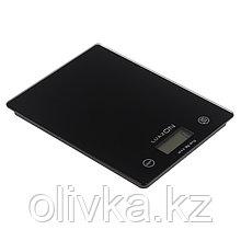 Весы кухонные LuazON LVK-702, электронные, до 7 кг, чёрные