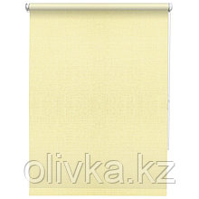 Рулонная штора «Шантунг», 40 х 160 см, цвет кремовый