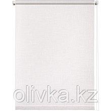 Рулонная штора «Шантунг», 40 х 160 см, цвет белый