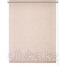 Рулонная штора «Шантунг», 52 х 175 см, цвет персик