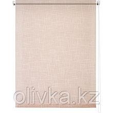 Рулонная штора «Шантунг», 50 х 160 см, цвет персик