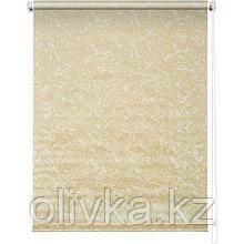 Рулонная штора «Фрост», 40 х 175 см, цвет жёлтый