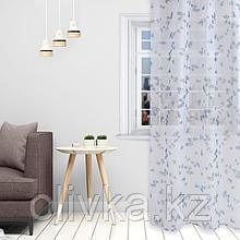 """Комплект тюлей """"Этель"""" Eucalyptus, 145*260 см-2 шт, 100% п/э"""