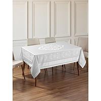 Скатерть Caramel 160x300 см, цвет белый