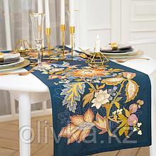 Дорожка на стол «Райская ночь» 40*146 см