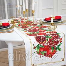 Дорожка на стол «Гранаты» 40*146 см
