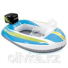 Лодка Pool Cruisers, от 3-6 лет, цвета МИКС, 59380NP INTEX