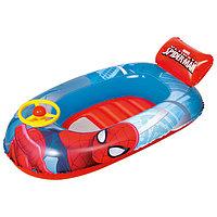 Лодочка надувная Spider-Man, 112 х 71 см, от 3-6 лет, 98009 Bestway