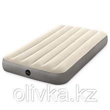 Кровать надувная Deluxe Twin, 99 х 191 х 25 см, 64101 INTEX