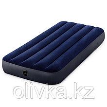 Матрас надувной Classic Downy Fiber-Tech, 76 x 191 x 25 см, 64756 INTEX