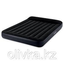 Матрас надувной Pillow Rest Classic Fiber-Tech, 152 х 203 х 25 см, 64143 INTEX
