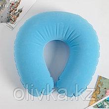 """Подголовник """"Голубой"""" форма овал"""