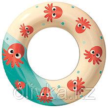 Круг надувной для плавания «Осьминожки», d=61 см, от 3-6 лет, цвета МИКС, 36014 Bestway