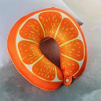 Подголовник-антистресс «Долька апельсина», на застёжке