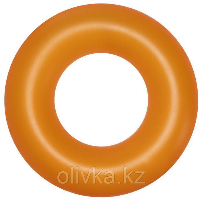 Круг надувной для плавания «Неоновый иней», d=91 см, от 10 лет, цвета МИКС, 36025 Bestway
